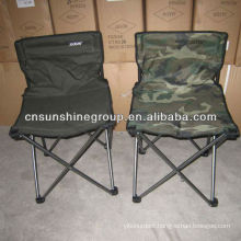 Portable folding camping chair with cup holder & carry bag