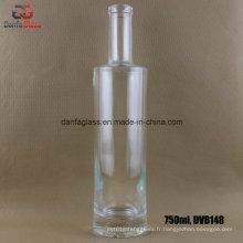 Bouteilles en verre Super Flint de 750 ml pour Whisky Moonshine
