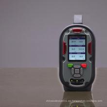 Analizador de gas portátil alarma detector de gas TVOC