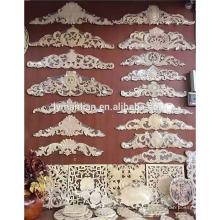Декоративная мебель из дерева, аппликации и накладки