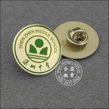 Kundenspezifisches Metallabzeichen, Druckschul-Reverspin (GZHY-LP-093)