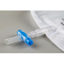 Medical urine bag surgery with valve