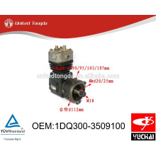 Original YUCHAI engine YC4105Q/4102Q air compressor 1DQ300-3509100 with cheap price