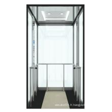 Full Glass Home Elevator de 250 ~ 400kg Charge