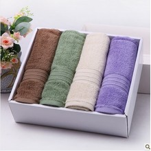 Cheap Cotton Solid colors Serviette de bain Spa Serviettes à main en gros