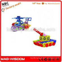 Plastic Magnetic Construction Toys