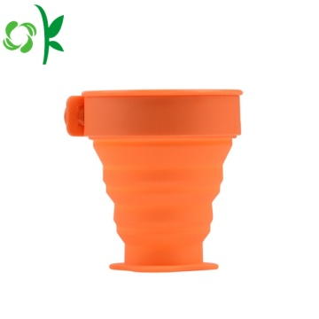 Toppkvalitet Durable Silicone Folding Cup till salu