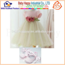 Summer wholesale bulk Famous brand High-grade 1 year baby angel dress