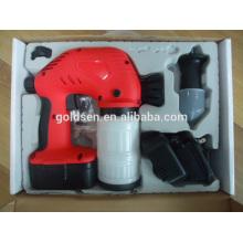 Cordless 18V Ni-Cd Batería de mano eléctrica portátil Mini máquina de pulverización de pintura Inyector inalámbrico cargable
