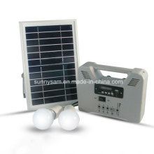 3 Years Warranty 6W Portable Smart Home Solar Power System