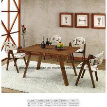 Высокого класса сплошной стол и стул для ресторан
