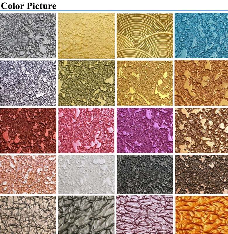 metallic wall paint