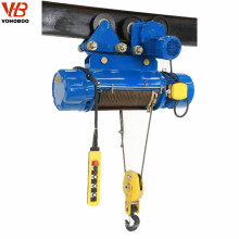 Electric wire rope motor hoist crane 2tons 440V