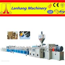 Ligne de production de profil de porte et de fenetre WPC ou PVC de série YF de haute qualité