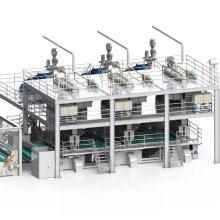 1600/2400/3200 / 4200MM Máquina de producción de PP Spunbond de tres haces