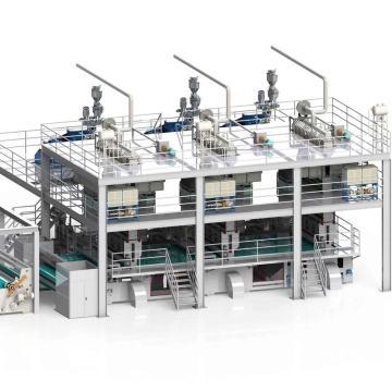 1600/2400/3200/4200MM Three-beam PP Spunbond Production Machine