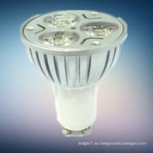 El surtidor de China 2014 nuevos productos llevó la luz del punto 3w mr16 gu10