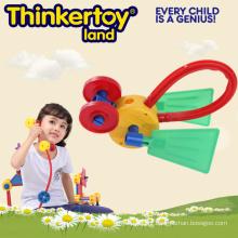 Brinquedo animal encantador do modelo DIY para os blocos de edifício da criança dos miúdos