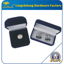 Free Design High Quality Cufflinks and Pin in Box