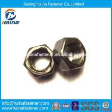 Китайский поставщик углеродистая сталь Gr 2 шестигранная трехточечная самоконтрящаяся гайка