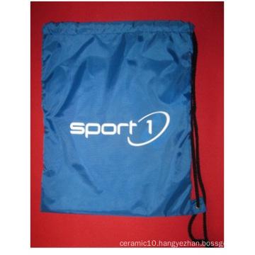 2016 New Nylon 210d Fluorescent Beam Drawstring Bags