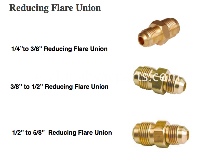 brass reducing union
