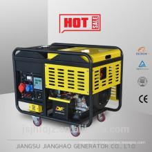Горячие продажи переменного тока одиночной фазы 5kw малого воздух-охлаженный открытый Тип тепловозный комплект генератора цена
