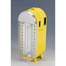 Portable del LED, linterna recargable, mano lámpara, antorcha 610lp