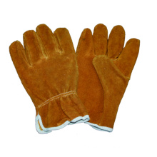 Cow Split Driver Glove, safety Work Glove