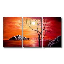 Art moderne Décoration intérieure Peinture à l'huile paysagère (LA3-145)