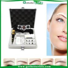 2015 profissional alta qualidade permanente máquina kit/profissional maquiagem kit de maquiagem
