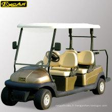 Chariot électrique de golf 4 places agréé pour la vente