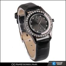 diamond on bezel wrist watch 2015