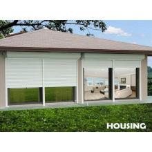 Aluminum Alloy Hurricane Shutter,white Color Roller Blands For Residential Houses