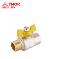 Valve de gaz de forgeage en laiton FxM de haute qualité