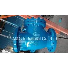API600 Carbon Steel Wcb Swing Rückschlagventil mit Flansch Ende