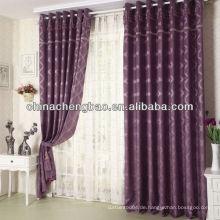 Jacquard-Vorhang-Panels mit Klappen und Tafeln