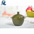 Wholesale Custom Mini Casserole Ceramic Cooking Pot Soup Pots