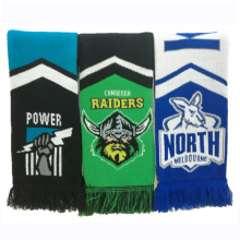 Football Soccer Fan Wear Logo Customerized OEM Scarf (SK808)