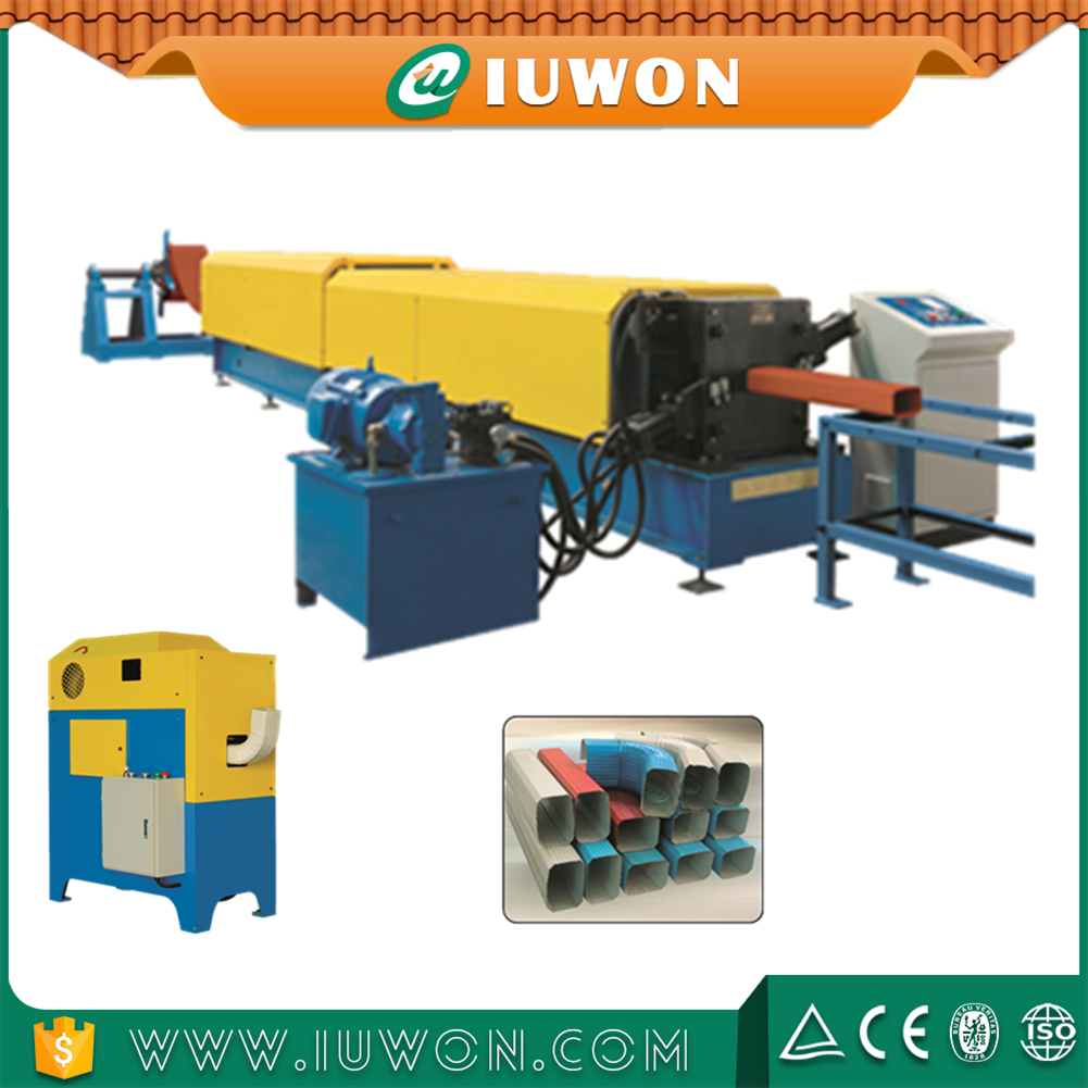 iuwon downspout elbow machine