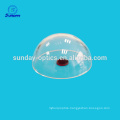 Optical Usage and Spherical Shape Optical Glass Domes