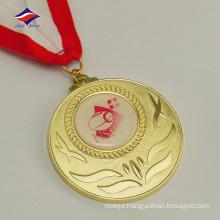 Round shape hot sales fashion nice price metal print medal