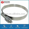 high torque hose clamp with spring washers
