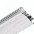 Profil en aluminium à transfert de grain de bois pour porte d'armoire battante