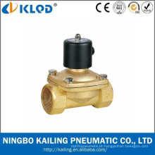 Válvula de solenóide de bronze de ação direta 2W500-50 do material 50mm