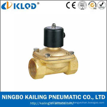 Direkt wirkendes Messingmaterial 50mm Magnetventil 2W500-50