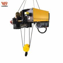 Grue électrique électrique de grue de câble métallique de conception européenne de 5 tonnes