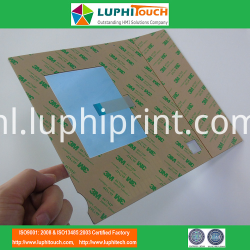 LED Backlighting PET Circuit 0.5mm Pitch ABB Equipment Membrane Keypad