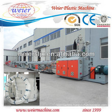 plastic single screw extruder machine line