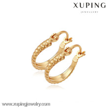 (90094)Xuping Fashion High Quality 18K Gold Plated Earring